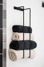 towel rack bathroom towels holder wall