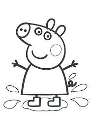 Peppa Pig Coloring Sheets Trustbanksurinamecom