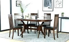 solid dark wood dining table dark wood dining table oval dining table for 6 oval dining