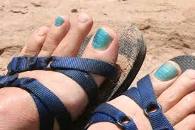 and why would a guy allow his toenails to be painted
