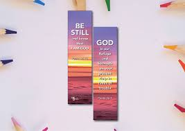 Design Bookmarks Inspirational Christian Bookmarks By Berean Designs God Is