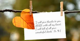 21 Gratitude Bible Verses for Giving Thanks to God