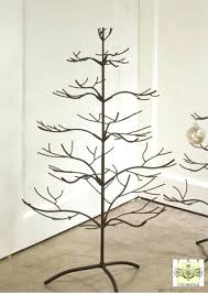 Christmas Tree Ornament Display Stands Gorgeous Ornament Trees Brown Natural Stands And Hooks Multiple Christmas