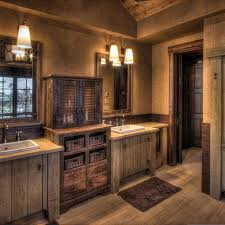 Rustic Bathroom Vanities And Sinks Classical Models Design Chandelier In Rustic Style Design For