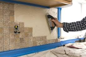 install a tile gap between backsplash and countertop wall installing kitchen
