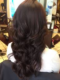 Dark Chocolate Hair A Mix Of