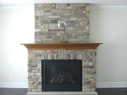 fake stone veneer fireplace installing manufactured modest gallery ideas surround smlf cultured