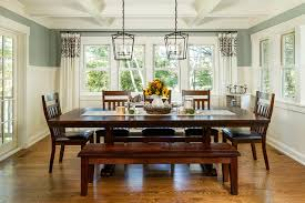 lakeside farmhouse traditional dining room traditional style dining room chandeliers