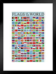 Flags Of The World Classroom Reference Chart National Poster