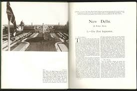 1931 january new delhi the first impression by robert byron
