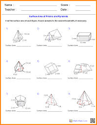 5+ area and volume worksheets | media resumed