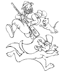 Wild animals is a part of our huge collection of coloring pages. Coloring Pages The Big Bad Wolf Color Printable For Kids