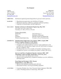 Auto Mechanic Resume Templates Automotive Mechanic Resume Elmifermetures Com