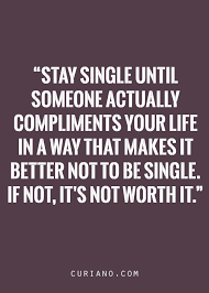 Single Life Quotes