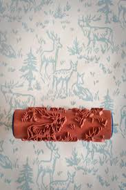 No 6 Patterned Paint Roller From The Painted House