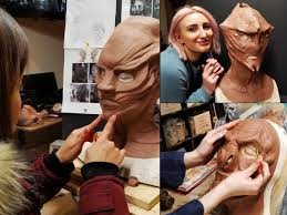 vancouver fx studio teaches professional special effects makeup airbrushing prosthetic sculpture mask making and prop fabrication for tv film