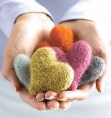 Knitted Heart Pattern Enchanting Knitting For Charity Have A Heart Free Pattern Knitting Daily