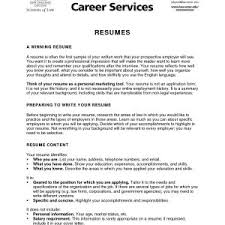 The Best Objective For Resumes How To Write An Objective For A Resume Best Objectives In Resumes