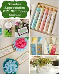 teacher appreciation diy gift ideas and printables