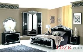 Black And Silver Bedroom Furniture Sets Ideas Set Queen For In Tn Full  Rococo Italian Classic . Black And Silver Bedroom ...