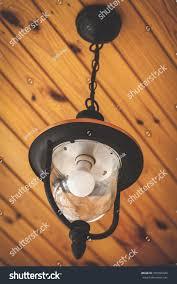 Decorative Chain For Light Fixtures Modern Lamp On Decorative Chain Weighs Stock Photo Edit Now