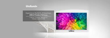 Unilumin Led Street Light Led Screen Displays Manufacturer Led Lighting Solutions