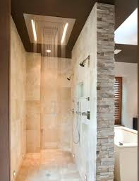 modern shower designs elegant shower designs with unique shower ideas also bricks wall accent and modern