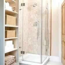 Small Corner Shower Small Bathroom Corner Shower Ideas Built In