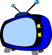 Retro Tv Online Blue Retro Tv Clip Art At Clker Com Vector Clip Art Online