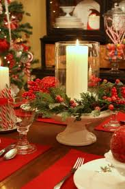 More Christmas Tablescape Ideas. Anything white, silver, clear glass, red,  gold