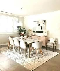 best size rug for dining room best size rug for living room dining room rug what