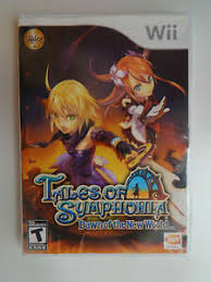 Details About Tales Of Symphonia Dawn Of The New World Game In Case Nintendo Wii