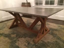 Concrete Top Dining Tables Concrete Rectangular Dining Table 44d1501v Concrete Dining Kitchen
