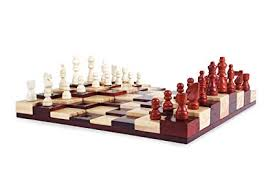 Wooden Multi Game Board Beauteous Amazon INA KI Multi Level Wooden Chess Board Game Set With
