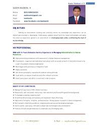 ... Resume Format For Professional 7 Format For Professional Resume And  Maker ...