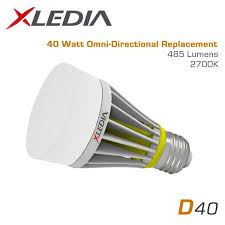 the xledia is the most efficient 75 watt equal omni directional led bulb suitable for fully enclosed fixtures