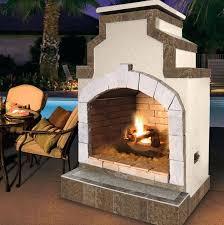 outdoor gas fireplace home depot canada ideas