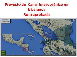 Resultado de imagem para canal interoceánico de nicaragua