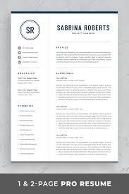 Modern Executive Resume Template Professional Manager Resume Template For Word Mac Pages
