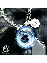 fabulous hand blown glass pendants home for sea jellyfish pendant bead by necklace