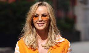 Amanda Holden looks impossibly youthful in crop top and figure-hugging  dungarees