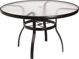 round patio table top with umbrella