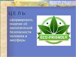 Экологическая безопасность Реферат Читать текст оnline  Экологическая безопасность природы реферат