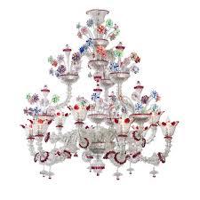 rezzonico murano glass chandelier striulli vetri d arte throughout chandeliers decorations 7