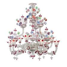rezzonico murano glass chandelier striulli vetri d arte throughout chandeliers decorations 7