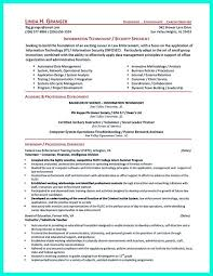 Cyber Security Resume Best Of Resume Security Clearance Example