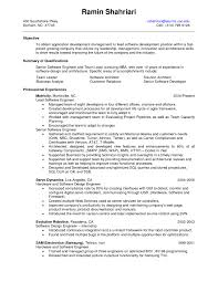 Sample Resume For A Quality Assurance Specialist New Quality