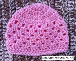 Baby Beanie Crochet Pattern 6 12 Months Stunning Newborn Granny Square Beanie Notes To Upsize Free Crochet