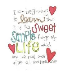Nice Life Quotes Simple Things Of Life Quotespictures Delectable Nice And Simple Quotes