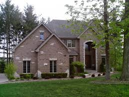 new brick home designs